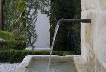 exterior fountains