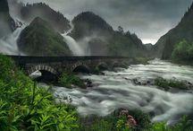 Waterfalls - Cascades / Superbes cascades en France et ailleurs. Gorgeous waterfalls around the world.