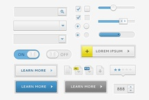 Digital - UI elements and patterns / by Pierre Foucart