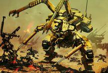 Mechs / Big battle bots / by Luke Mullis