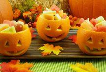 Halloween Fruit Salad / by Maya
