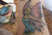 Reader's Tattoos / To share images of Reader's tattoos which relate to Claudia Hall Christian's stories.