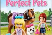 New LEGO Book arrival-DK Readers: Lego Friends: Perfect Pets [Paperback]