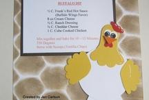 recipe scrapbook / by Christy Burningham