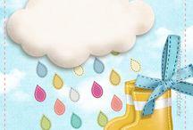 chuva de bênção