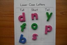Language/Literacy/Letter Identification / by Jennifer Welch