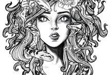 Medusa tattoo