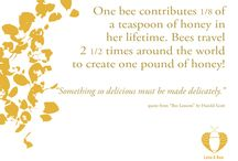 Bee Quotes / We've compiled some helpful life lessons, as taught to us by nature's most patient pollinators.