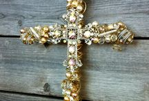 Cross my heart / Christian crosses / by Christel Nance