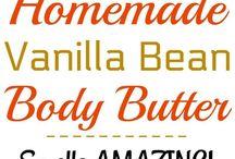 DIY soaps,body scrubs, body butters,bath bombs etc