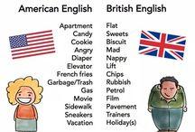BrEng vs AmEng / The differences between British English and American English