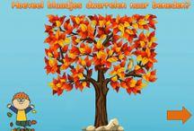Kleuters thema herfst/seizoenen
