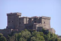 Castello Orsini di Soriano nel Cimino / Un bel castello del XVI secolo e un borgo medievale raccolto intorno.