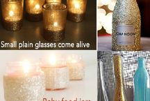 Bottiglie glitter
