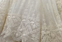 Lace @ beaded fabric