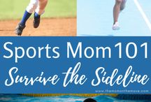 Sports Mom | Parenting / Louisville blogger, The Mom on the Move, shares tips, resources and encouragement for Sports Moms.