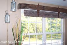 Window treatments / by Shawnee Blancet