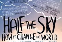 Half the Sky: Around the World / Half the Sky: Turning Oppression into Opportunity for Women Worldwide has been translated and read by people all over the world. Check out some of the book covers! / by Half the Sky Movement