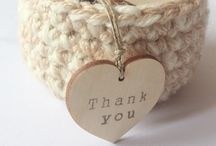 Wooden wedding tags / Tags