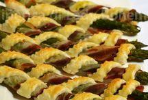 Cannoli sfoglia asparagi pancetta