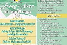 Pemilihan Abang dan Nona Kota Tangerang Selatan 2016
