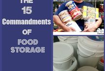 Food Storage / How to store food for long term preparedness