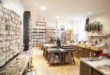 Nos boutiques / Retrouvez-nous dans une de nos quatre boutiques à Paris, Boulogne et Lyon