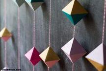 Origami i dekoracje ścienne