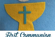 First Communion Ideas / First Holy Communion ideas