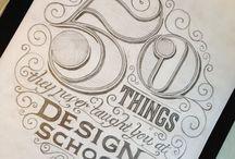 Typografie en Letters