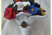 Pretty Things by Posy Rosy / These are all beautiful bouquets and floral accessories made by wonderful (modest) and beautiful daughter in law in Girona, Catalunya!