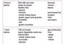 Foods for running
