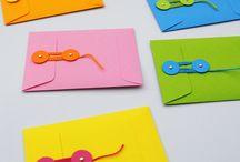 SJABLONEN & STAPPENPLANNEN / van enveloppen, doosjes, trekpoppen, 3D figuren, ...