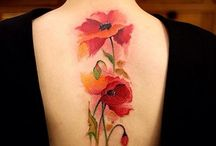Poppy tattoo ideas / Ideas and inspiration for poppy tattoo