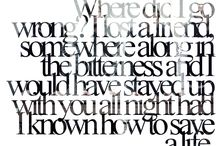 lyrics ,quotes and tell tales