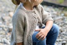 Childrens knitting