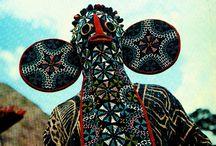 African Ceremonial Dancers
