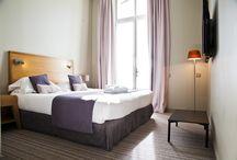 Inside / L'hôtel & Spa du Château dispose de 20 chambres à la décoration contemporaine et à l'atmosphère feutrée, qui sauront vous apporter un confort optimal. Certaines d'entre elles vous permettent d'admirer le parc ou d'apercevoir la mer.   Toutes les chambres sont climatisées et insonorisées, et disposent d'un accès internet wifi gratuit, d'un plateau de courtoisie, d'une télévision à écran plat, d'un minibar et d'un coffre-fort, pour un séjour des plus agréables en Charente-Maritime.