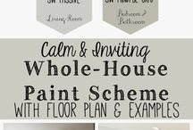 Flooring and Paint / Paint, flooring, walls, ceilings...colors and textures!