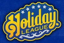 The Holiday League / The Holiday League is a promotional project that allows Hartwell Studio Works to have some fun *and* do some nifty work.   Visit the official Holiday League website at www.holidayleague.com. / by Hartwell Studio Works