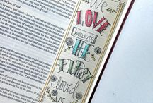 Bible Journaling on PDF paper / by Colleen Hollis 2tinytreasures