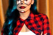 Gangster Girl Makeup