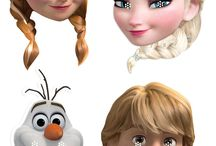 Frozen Party Printable