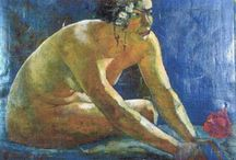 Paul Gauguin / Paul Gauguin (né le 7 juin 1848 à Paris — mort le 8 mai 1903, à Atuona, Hiva Oa, îles Marquises) est un peintre postimpressionniste. Chef de file de l'École de Pont-Aven et inspirateur des nabis, il est considéré comme l'un des peintres français majeurs du XIXe siècle, et l'un des plus importants précurseurs de l'art moderne avec Munch et Cézanne .