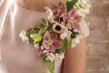 Broche floral