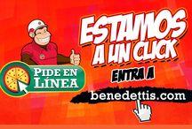Benedetti's en Línea / Ya contamos con servicio en línea a través de nuestra página de internet.