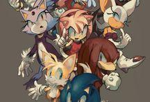 Sonic (Good offical- & fan art)