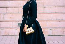My Black Midi skirt / by indianfashionandlifestyle.com