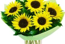 Sunflowers / We've a fabulous selection of made to order florist bouquets featuring fresh cut Sunflowers. For every occasion and all year round, our sunflower bouquets are available to send across the whole of the UK. www.eden4flowers.co.uk