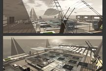 "Virtual Architecture Elements - ASCENT V2 sea Club / Second Life - Here's the ""ASCENT V2 club"" with 10 shops [ASCENT Serie]  SLURL - http://bit.ly/1fQOxv8 Marketplace - http://bit.ly/1kkedUk"